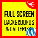 Image&Video FullScreen Background WordPress Plugin