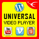 Universal Video Player - WordPress Plugin