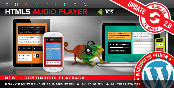 Chameleon Playlist HTML5 audio player wordpress.jpg